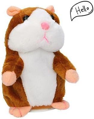 YSMART Talking Hamster PLUSH TOY Hámster Juguete Hablar hámster Talking Hamster Repetir lo que dices mimetismo mascotas Muñeco de Peluche Adorable Regalo de ...