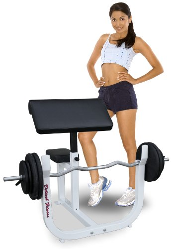 Deltech Fitness Preacher Curl Bench by Deltech Fitness