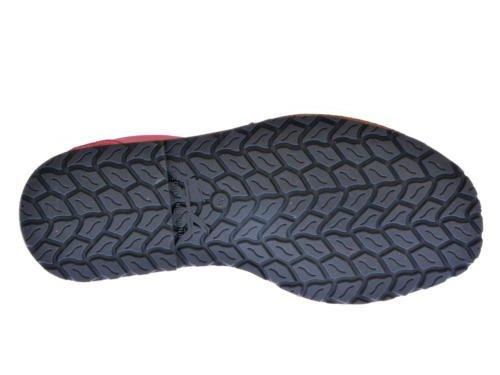 Sandalias Menorquinas en Glitter, Todo Piel mod.204. Calzado Made in Spain, Garantia de calidad. rojo