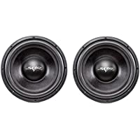 (2) Skar Audio DDX-12 D4 12 1500W Max Power Dual 4 Car Subwoofer