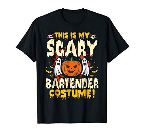 This is my Scary Bartender Costume Funny Halloween T Shirt for $<!--$17.99-->