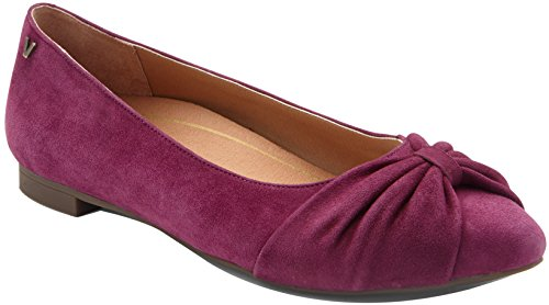 Gramercy Single - Vionic Womens Gramercy Ballet Flat, Merlot, Size 7.5