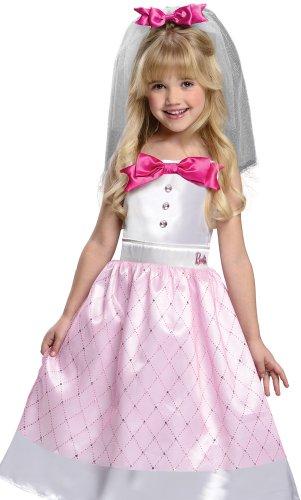 Barbie Bride Costume, Toddler 1-2
