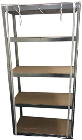 EAZILIFE Heavy Duty Boltless Shelving Protective Covers 1800mm T x 900mm W x 450mm 1800 x 900 x 400 Dust Protection Twin Zip Access 400mm D Turn your shelving into a Greenhouse