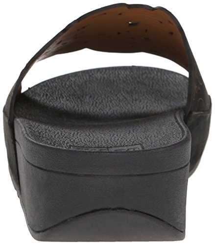 FitFlop™ Flora™ Slide Black 6 UK
