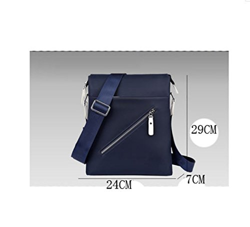 Bag purpose Black Cloth Multi Laidaye Messenger Shoulder Leisure Oxford Business Men Backpack Travel zfWO7qXwxR