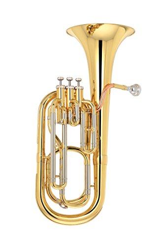 Kaizer Baritone Horn 2000 Series B Flat Bb Gold Lacquer BRH-2000LQ by Kaizer