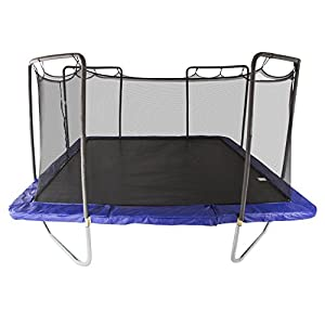 Amazon.com: Skywalker Trampolines Square Trampoline with ...