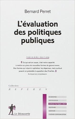 Kindle it livres télécharger L'évaluation des politique publiques de Bernard PERRET (6 novembre 2014) Poche iBook