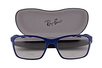 Amazon.com: Ray Ban RX7036 Eyeglasses 55-17-145 Matte Dark