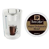 Keurig K-Select Coffee Machine and 32ct Peet's Coffee Major Dickason's Blend K-Cups (ships seperately)