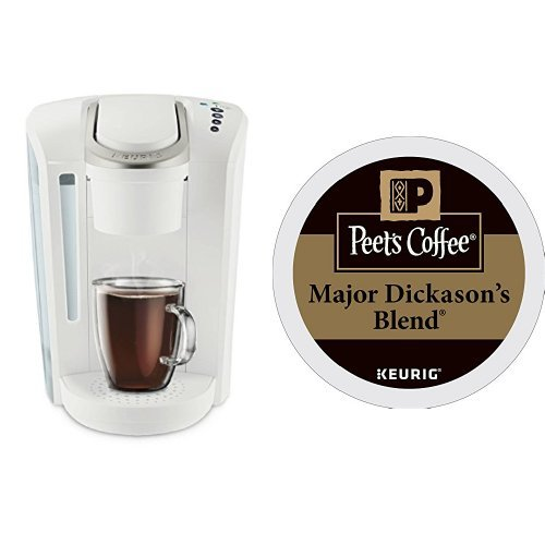 Keurig K-Select Coffee Machine and 32ct Peet's Coffee Major Dickason's Blend K-Cups (ships seperately)