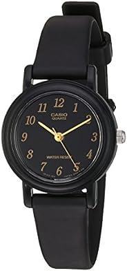 """Casio""""clásico resina de cuarzo reloj Casual de la mujer, (Modelo: LQ139"""