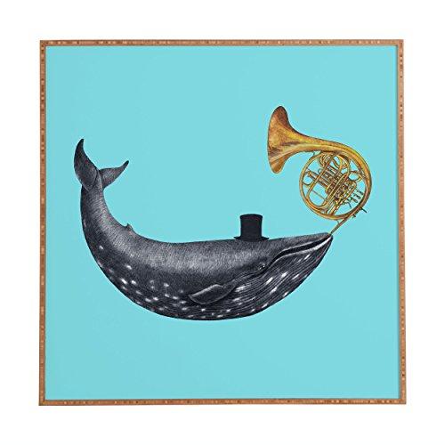 Deny Designs Terry Fan,  Song Of The Sea, Framed Wall Art, Medium, 20