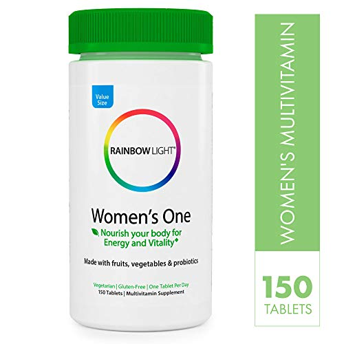 Rainbow Light Women's One Multivitamin – 150 Count (Pack of 1)