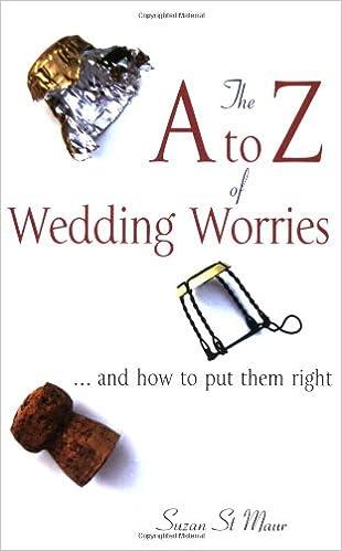 A-Z Of Wedding Worries