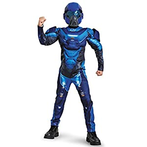 Spartan Classic Muscle Halo Microsoft Costume Small4 6 Blue