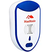 #LightningDeal MaxMoxie Ultrasonic Pest Repeller Humane Mice Control Newest Electronic Insect Repellent Easiest Way to Reject Rodent Bed Bug Mosquito Fly Cockroach Spider Rat Home Animal No Kill Plug in 2 Pack