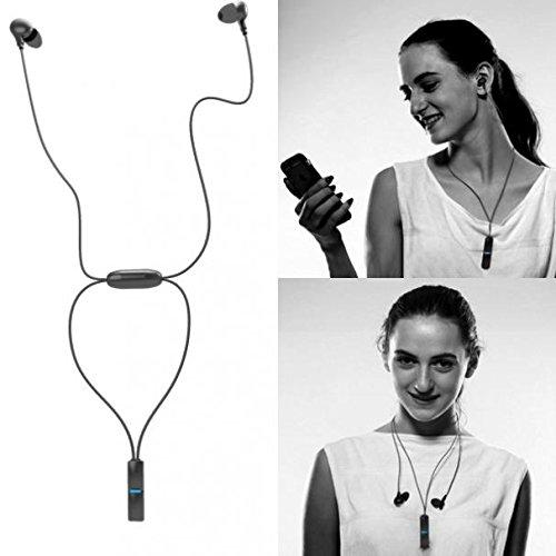(Hi-Fi Sound Sports Headset Wireless Earphones Mic Premium Earbuds Handsfree [Ergonomic Fit] Compatible with OnePlus)
