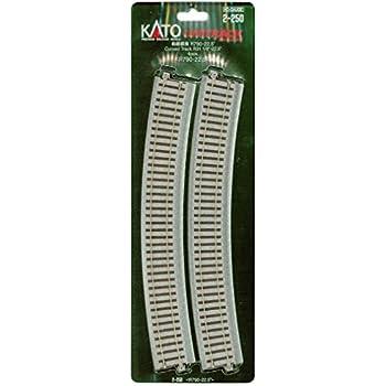 2-250 4 Kato KAT2250 HO 790mm 31-1//8 Radius Curve 22.5-Degree