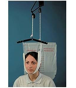 Patterson Medical - Kit de tracción superior para cabeza (incluye bolsa para agua)