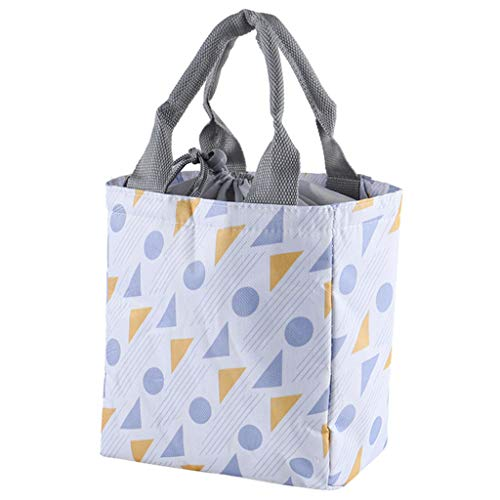 TIANMI Fashion New Portable Waterproof Thickness Picnic School Lunch Bag Office