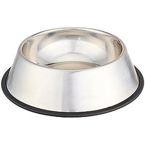 AmazonBasics Stainless Steel Dog Bowl 14