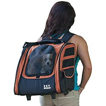 Amazon.com : Snoozer Roll Around 4-in-1 Pet Carrier, Red