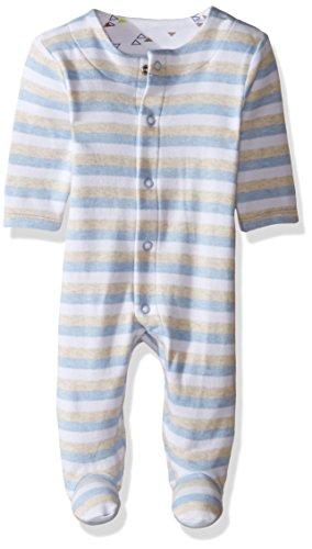 Newborn Baby Boys Footie Coverall - 7