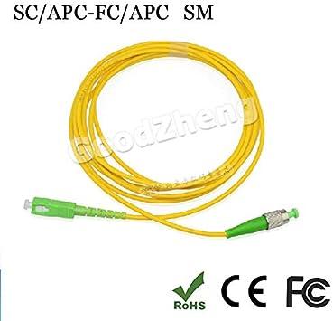 SC//APC-LC//APC 9//125 fiber patch cord jumper cable Singlemode 3M//5M//10M//15M