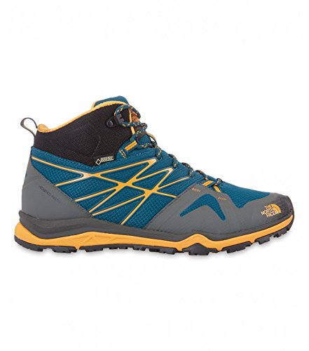 The North Face Hedgehog Fastpack Lite Mid GTX, Uomo Deep Teal Blue/Brushfire Orange