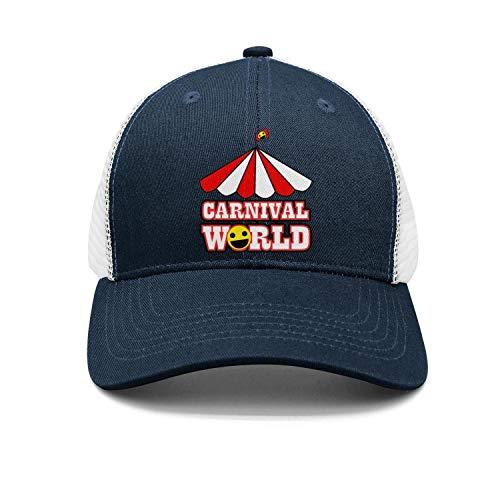 Unisex Carnival World Canopy Flag Cap Vintage Baseball Hat