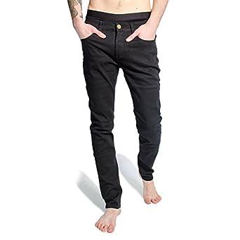 Criminal Damage SOS Regular Skinny Jeans (Black): Amazon.co.uk ...
