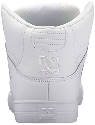 Dc Mens Pure High-top Wc Skate Schoen Wit / Wit