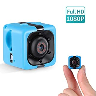 1080P Mini Spy Camera, Wireless Hidden Video Camera with Night Vision/Motion Detection, Small Home Security Surveillance Camera Portable Tiny Nanny Cam for Car Indoor Outdoor