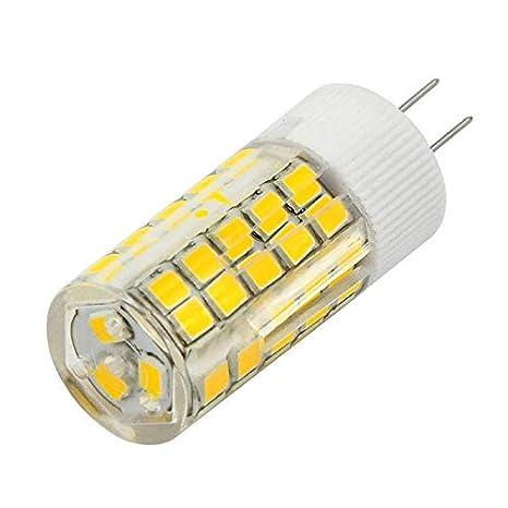 Lámpara Bombilla LED G4 6 W 63 LED SMD luz cálida 500lm 12 V ACDC Potencia 50 W: Amazon.es: Iluminación