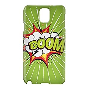 Loud Universe Samsung Galaxy Note 3 3D Wrap Around Comic Boom Print Cover - Green