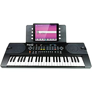 8da854e970e RockJam (RJ549) 49-Key Portable Electric Keyboard Piano With Power Supply