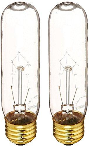 Bulbrite 25T10C 25-Watt Incandescent T10 Tubular Light, Clear - 2 - Tint Code Color