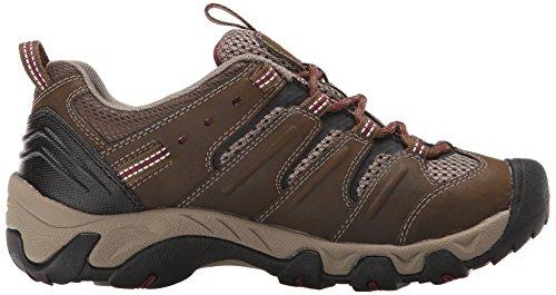 Keen Womens Koven Hiking Shoe Cascade Brown/Zinfandel
