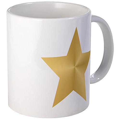 Gold Personalized Coffee (CafePress - Gold Star Mug - Unique Coffee Mug, Coffee Cup)