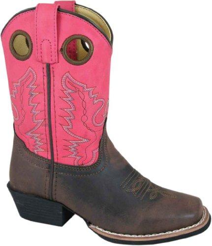 Boot Memphis Kid's 1411 Smoky Mountain Pnk Square Toe qYFnOpt