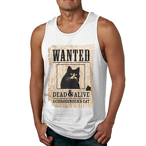 e8cab6b6c7de8 YUYU Limited Edition Men s Wanted Dead AAD Alive Leisure Tank Tops White 3XL