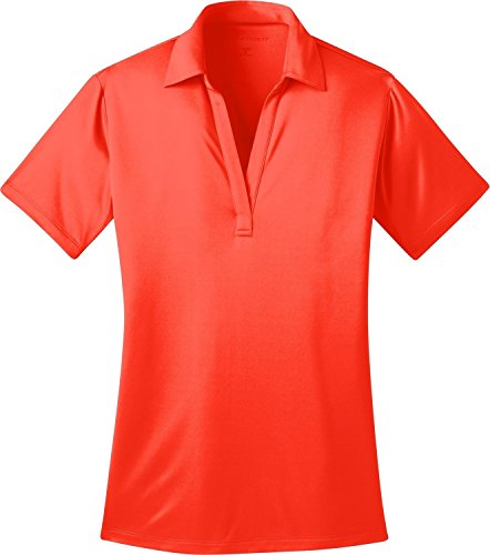 dies Silk TouchTM Performance Polo, Neon Orange, XL ()