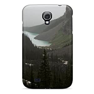 Snap-on Valley In Between The 2 Mountains Case Cover Skin Compatible With Galaxy S4