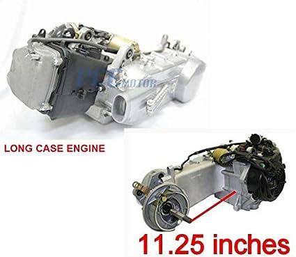 Amazon com: 150CC GY6 SCOOTER ATV QUAD GO-KART LONG ENGINE MOTOR