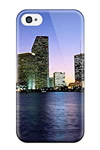 Hot Los Angeles City First Grade Tpu Phone Case For Iphone 4/4s Case Cover