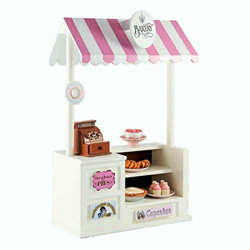 The Queen's Treasures Bake Concession Shoppe & Changeable Signs. Furniture Sized for 18 Inch American Girl Doll Sales Counter Table,Canopy,Register,Money, Signs (American Girl Dolls For Sale In Canada)