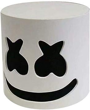 Full Head MarshMello DJ Mask Helmet Halloween Cosplay Mask Bar Music Marshmallow