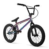 Elite 20' & 18' BMX Bicycle Destro Model Freestyle Bike - 4 Piece Cr-MO Handlebar